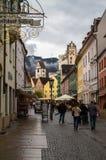 Bavarian Town Fuessen, Germany Stock Photos