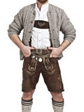 Bavarian tradition. An image of a man in Bavarian tradition Oktoberfest Stock Photography