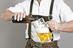 Bavarian tradition Stock Photography
