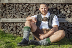 Bavarian tradition Stock Image