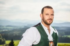 Bavarian tradition male Stock Photography