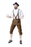 Bavarian tradition presenting Stock Photography