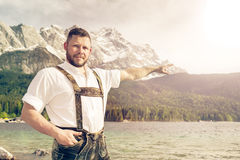 Bavarian tradition Royalty Free Stock Image