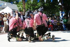 Bavarian Traditional Dancers Royalty Free Stock Images