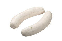 Bavarian veal sausage Royalty Free Stock Photo