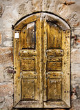 Bavarian very old door Royalty Free Stock Photo