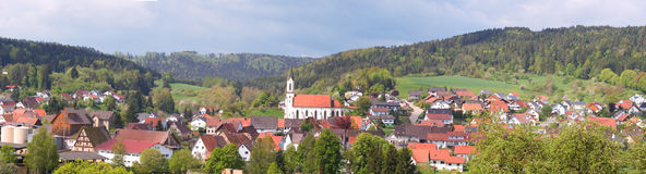 Bavarian village Royalty Free Stock Photography