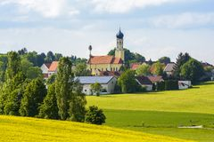Bavarian village Royalty Free Stock Photo