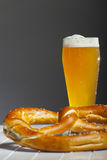 Bavarian wheat beer Stock Images
