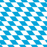 Bavarian white and blue Stock Photography