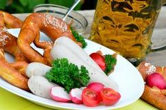 Bavarian meal Stock Photo