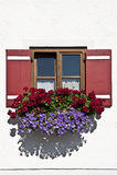 Bavarian Window Royalty Free Stock Photography