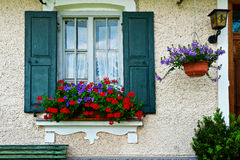 Bavarian Window Stock Photography