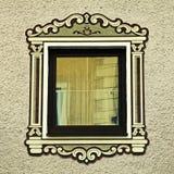 Bavarian window, Austria Stock Image