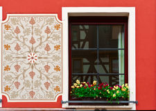 Bavarian Window Royalty Free Stock Photos