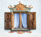 Bavarian window Royalty Free Stock Image