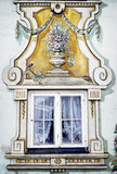 Bavarian window - mural Stock Photos