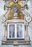 Bavarian window - mural Stock Photography