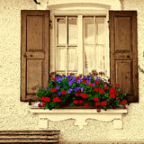 Bavarian Window Stock Photography