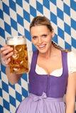 Bavarian Woman Royalty Free Stock Photography