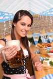 Bavarian Woman Stock Image