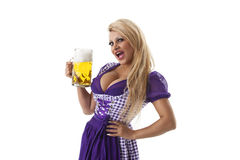 Bavarian woman Stock Photos