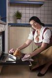 Bavarian woman Royalty Free Stock Photo