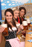 Bavarian Women Royalty Free Stock Photography