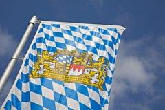 bavarianflagga Fotografering för Bildbyråer