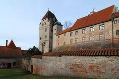 bavarianslott Arkivfoto