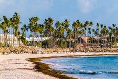 Bavaro Beaches in Punta Cana, Dominican Republic. Photo of Bavaro Beaches in Punta Cana, Dominican Republic stock images