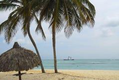 Bavaro Strand in Punta Cana Lizenzfreie Stockfotografie