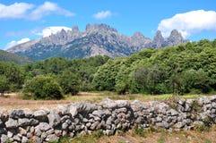 Bavella en Corse Photos stock