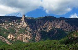 Bavella mountains in corsica Royalty Free Stock Photos