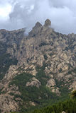 Bavella Needles lanscape, Southern Corsica, France Royalty Free Stock Image