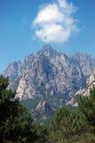Bavella peaks in Corsica mountains Stock Photos