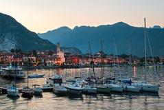 Baveno (Lago Maggiore Италия) стоковая фотография rf