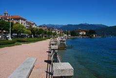 Baveno, Lago Maggiore, Italia fotografia stock libera da diritti