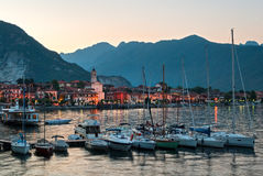 Baveno (Lago Maggiore Italy) Royalty Free Stock Photography