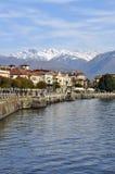 Baveno, Lago Maggiore, Italy stock photography