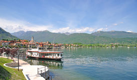 Baveno, lago Maggiore, Lago Maggiore, Italy fotos de stock