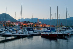 Baveno, Lago Maggiore, Włochy Fotografia Royalty Free