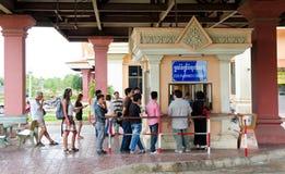 Bavet, Kambodża Obrazy Royalty Free