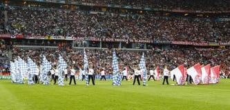 Bavière Munich contre la finale de CL de l'UEFA de Chelsea FC Photographie stock libre de droits