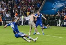 Bavière Munich contre la finale de CL de l'UEFA de Chelsea FC Images stock