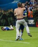 Bavière Munich contre la finale de CL de l'UEFA de Chelsea FC Image libre de droits