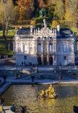 Baviera, Alemanha - 15 de outubro de 2017: Palácio 1863-188 de Linderhof Imagem de Stock Royalty Free