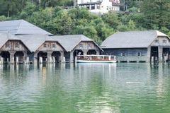 Baviera Alemania de Koenigssee Berchtesgaden del lago Foto de archivo libre de regalías