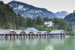 Baviera Alemania de Koenigssee Berchtesgaden del lago Imagenes de archivo