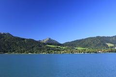 Baviera de Tegernsee del lago Foto de archivo libre de regalías
